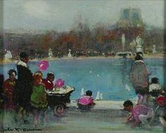 Jules-René Hervé - Fontaine de parc
