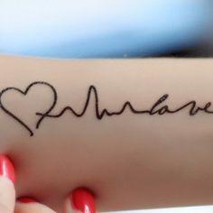 Tatuajes de latidos de corazón Tattoo Quotes, Heart, Ideas Para, Tatoo, Heart Tattoo Designs, Tattoo Drawings, Heart Tat, Hearts, Quote Tattoos
