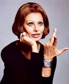 Sophia Loren, 1970s. Photo by Francesco Scavullo