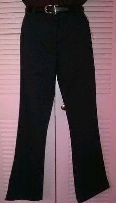 Girls George Boot Cut Style Navy Blue School Uniform Pants Size 14 New | eBay