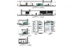 Corporate Building Architecture Drawing in AutoCAD dwg files. Architecture People, Building Architecture, 3d Architect, Building Structure, Present Day, Autocad, B & B, Urban Design, This Is Us