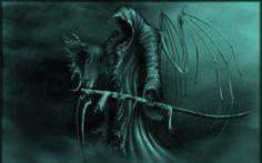 3D Grim Reaper Wallpaper