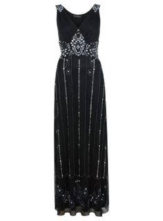 Empire Beaded Maxi Dress - Going Out Dresses - Dress Shop - Miss Selfridge US