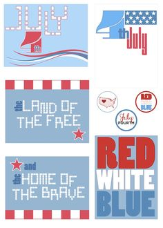 Free 4th of July Printables from scrappystickyinkymess