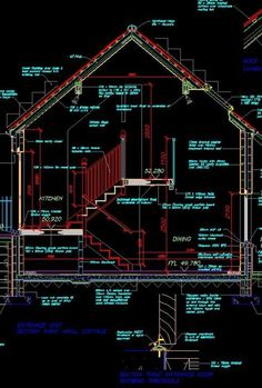 ★【House Section】★Download These Cad Blocks and Drawings now!! (https://www.cadblocksdownload.com/)-CAD Library | AutoCAD Blocks | AutoCAD Symbols | CAD Drawings | Architecture Details│Landscape Details
