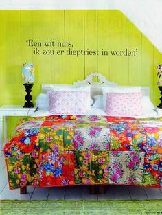 Bed & Breakfast 'Bed of Flowers' in Beuningen via 101woonideeen.nl