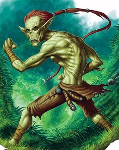 """The githzerai are a classic D&D """"monster"""", the enemies of the githyanki. I usually describe them to my players as """"kung fu alien monks"""". G..."""