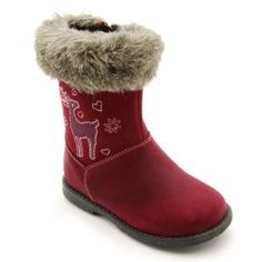 Aqua Twilight, Berry Leather Girls Zip-up Boots - Girls Shoes Warm Winter Boots, Kids Boots, Childrens Shoes, Calf Boots, Toddler Shoes, Snow Boots, Girls Shoes, Me Too Shoes