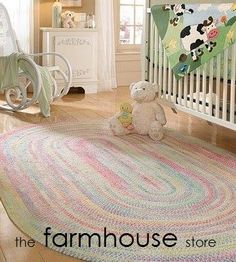 Looking to brighten up your kid's room? Capel kid's rugs are hip; colorful; and super cool!! For more than 95 years, Capel has remained the most well known name in braided rugs. With over 150 color combinations and 9 different shape options, Capel braided rugs can provide your home with designer styles from farmhouse to contemporary. Stop in today and check them out!  facebook.com/thefarmhousestoreprinceton