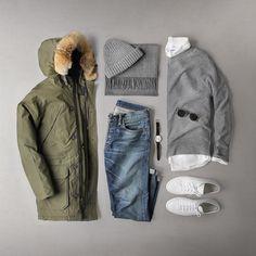 "9eb0b46a9e02ae fashionvanity  ""Coat  Penfield Sweater  Grayers Shirt  Corridor Jeans  Ralph  Lauren"