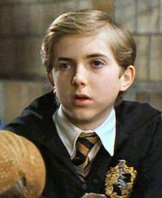 """Ernest """"Ernie"""" Macmillan (b. was a pure-blood wizard who attended Hogwarts School from 1991 to 1998 and was sorted into Hufflepuff house. He became a member of Dumbledore's Army and fought in the Battle of Hogwarts - Harry Potter wiki Harry Potter Movie Characters, Harry Potter World, Louis And Eleanor, Harry Potter Jk Rowling, Hufflepuff Pride, Harry Potter Pictures, Hogwarts Houses, Fangirl, Supernatural"""