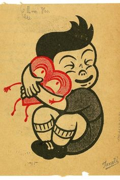 Gary Taxali- happy valentines!