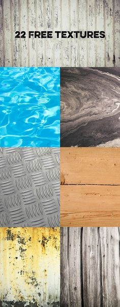 There is always room in your computer for a free set of textures.  http://photoshoproadmap.com/download-22-nice-free-textures-from-raumrot/?utm_campaign=coschedule&utm_source=pinterest&utm_medium=Photoshop%20Roadmap&utm_content=Download%2022%20Nice%20Free%20Textures%20from%20Raumrot