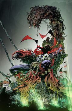 Spawn 250 cover by Greg Capullo