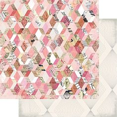 American Crafts 313608 Heidi Swapp Magnolia Lane Paper 25 Pack 12 X 12 Paper Flea Market *** Continue to the product at the image link.
