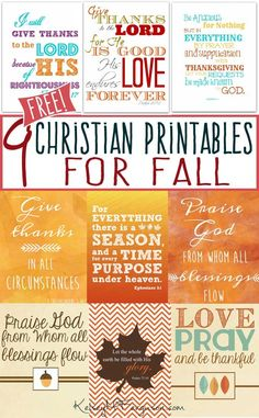 Adding fall beauty and Christian truths to your walls doesn't have to be expensive! Check out these FREE Bible-inspired printables for Fall and decorate your house for next to nothing!
