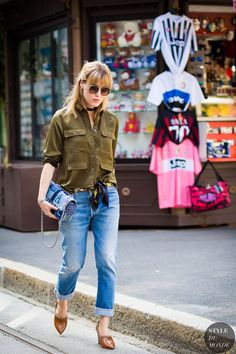 Annabel Rosendahl Street Style Fashion Street Streetsnaps przez STYLEDUMONDE Street Style Fashion Fotografia