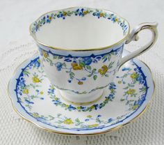 Vintage Royal Albert Tea Cup and Saucer Bone China by TheAcreage