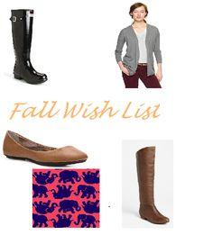 Purple and Pearls : Fall Wishlist