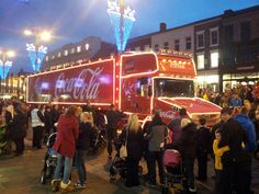 Coca Cola Truck came to town Coca Cola Christmas, Truck, Fun, Travel, Viajes, Trucks, Destinations, Traveling, Trips