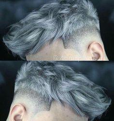 hairstyles ideas – New Ideas Mens Haircuts Short Hair, Mens Hairstyles Fade, Short Hairstyles For Thick Hair, Men's Hairstyles, Grey Hair Color Men, Grey Hair Men, Hair And Beard Styles, Curly Hair Styles, Thick Hair Styles Medium