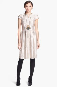 jessie silk dress / tory burch