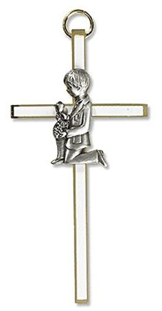 "First Communion Boy Cross. Size: 4"" H. AT001 https://www.amazon.com/dp/B01MS8U6N9/ref=cm_sw_r_pi_dp_x_sZbZybYJB7X4V"
