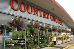 Country Grocer is an independent, locally-owned grocery chain with 6 stores (expanding to 7 later in 2012) on southern Vancouver Island & Salt Spring Island. They always have really good deals, their staff are friendly and helpful and they really support the community.