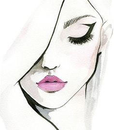 eye shapes drawing 390757705167849019 - If you're having trouble getting your eye makeup right, you can learn how to apply eyeliner based on your eye shape, so you'll always look just perfect. Makeup Drawing, Makeup Art, Eye Makeup, Contour Drawing, Makeup Illustration, Illustration Mode, Illustration Fashion, Pencil Art Drawings, Art Drawings Sketches