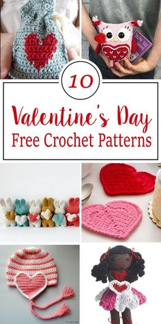 Free Crochet Patterns For Valentine's Day