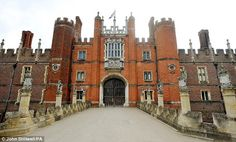 Hampton Court Palace is a royal palace in the London Borough of Richmond upon Thames, Greater London; it has not been inhabited by the British royal family since the 18th century. Wikipedia