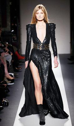 I love this Balmain Dress (and the belt too)! xoxo, k2obykarenko.com