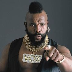 Mr T....US Army