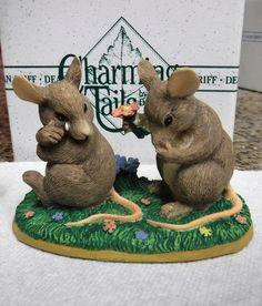 Charming Tails ~ Binkey Apologizing ~ Dean Griff Silvestri Figurine NIB   eBay