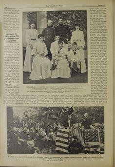 La famiglia della nuova principessa ereditaria di Germania, Cecilia, das interessante Blatt, settembre 1904