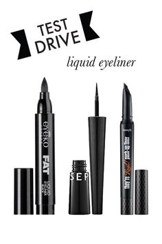 understated grace: test drive | liquid eyeliner