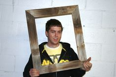 "16x20 Thin X 3"" Barn Wood Picture Frame"