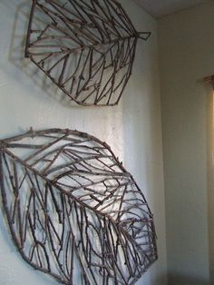 Stick art - anything is possible! Stick art - anything is possible! Stick art - anything is possible! Stick art - anything is possible! Twig Crafts, Driftwood Crafts, Nature Crafts, Craft Stick Crafts, Home Crafts, Diy And Crafts, Crafts For Kids, Arts And Crafts, Nature Decor