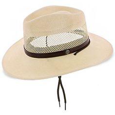 c0d696e6219a8 Lodge - Stetson Natural Palm Straw Panama Hat Summer Hats