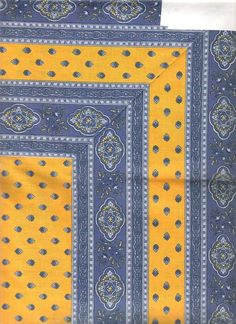 I actually have a yellow runner with the same border that I bought in Avignon - love it.
