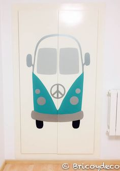 mural de #vinilo decorativo #DIY Diy, Workspaces, Home Decor, Cars, Vinyls, Closets, Murals, Home, Bricolage