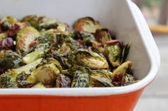 Roasted Brussels Sprouts and Bacon   Food Renegade