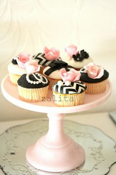 french inspired cupcakes | Flickr - Photo Sharing!