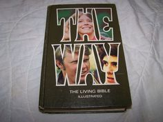 The Way The Living Bible Illustrated Hardcover 1973 Religion - http://books.goshoppins.com/religion-spirituality/the-way-the-living-bible-illustrated-hardcover-1973-religion/