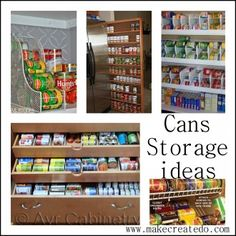 Can Storage Storage Racks And Space Saver On Pinterest