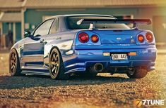 TunedAndRaceCars - Nissan skyline GTR R34