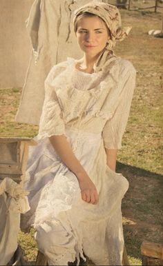 Magnolia Pearl Milkmaid Collection...light, gauzy layers, ruffled, dreamy, feminine with a rustic prairie vibe! Gorgeous and inspiring!