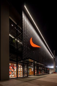 Exterior Shop Design Facades 63 Ideas For 2019 Retail Facade, Shop Facade, Mall Facade, Building Facade, Building Design, Mall Design, Retail Store Design, Shop Front Design, Signage Design