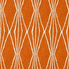 Tangerine Upholstery Fabric - Orange White Curtain Material - Geometric Upholstery Yardage - Orange Home Decor - Heavy Duty Cotton Fabric Upholstery Repair, Upholstery Nails, Upholstery Cleaning, Furniture Upholstery, Curtain Material, Drapery Fabric, Orange Home Decor, Tufted Headboards, Orange House