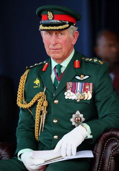 Prince Charles gives a speech in Sir John Guise Stadium during a cultural event on 4 Nov 2012 in Papua New Guinea.